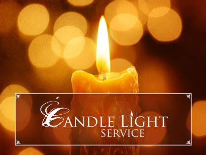candle light service candlelight service 6 pm brentwood