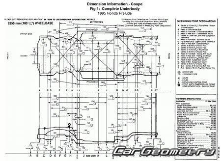 car repair manuals online pdf 1992 honda prelude regenerative braking контрольные размеры кузова honda prelude 1992 1996 body repair manual
