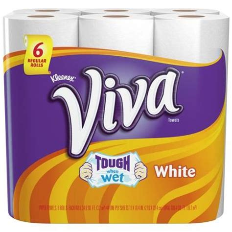Who Makes Viva Paper Towels - 1 00 1 viva paper towel coupon six rolls or larger