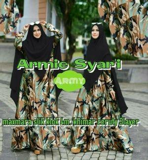 Sale Murah Gamis Balodior Motif Abstract Ld 105cm Pb 142cm 1 baju gamis syari busui motif army pakaian muslimah wanita model terbaru