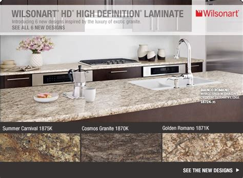 Hd Laminate Countertops by Wilsonart Hd High Definition Laminate Introducing 6 New