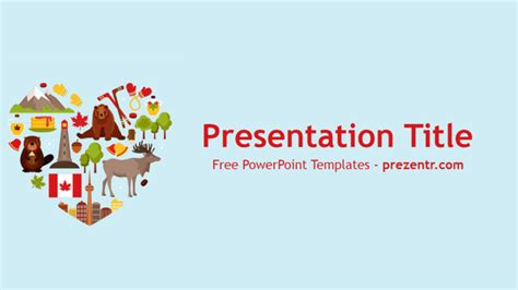 canada powerpoint template free canada powerpoint template prezentr powerpoint