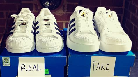 real vs adidas superstar shoes