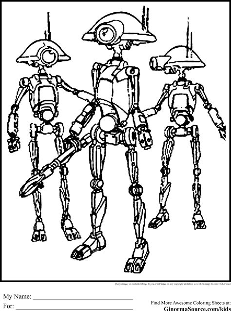 star wars droid coloring page star wars coloring pages pit droid coloring pages