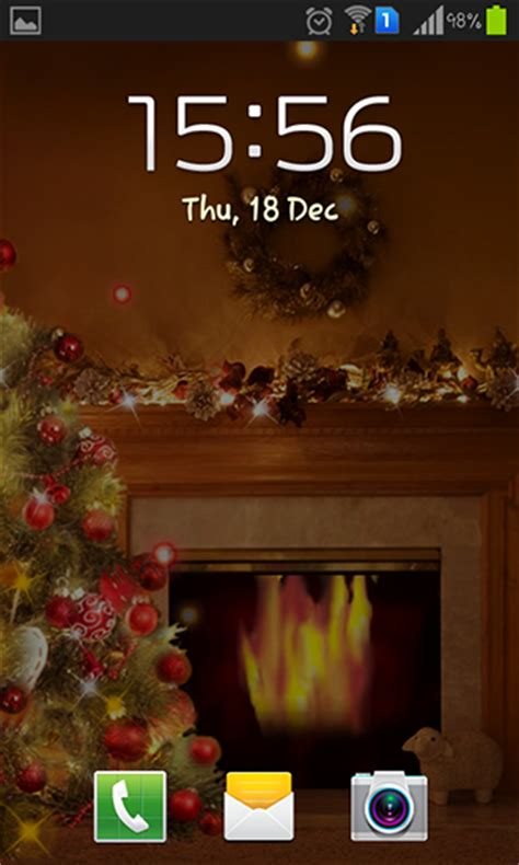 new year 2015 live fireplace new year 2015 live wallpaper for android