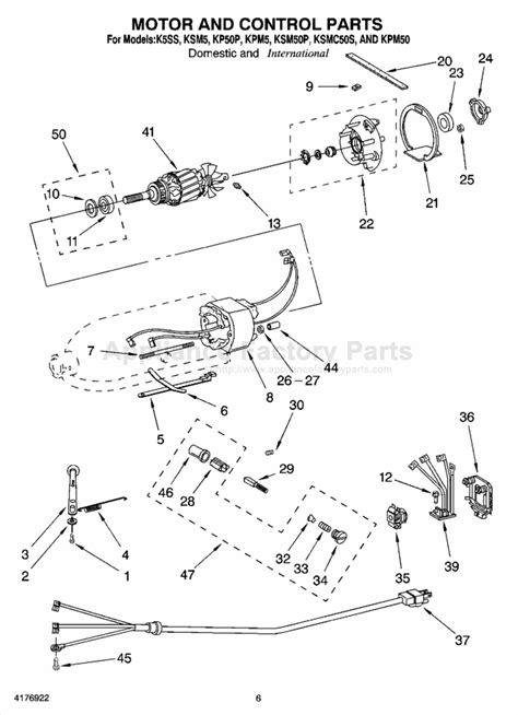Parts for K5SS   Kitchenaid   Mixers