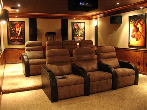 home theatre decor home remodeling atractive home theater rooms decor ideas
