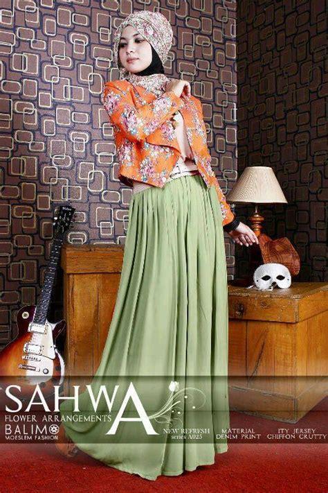 Gamis Sifon Stella balimo new sahwa orange baju muslim gamis modern
