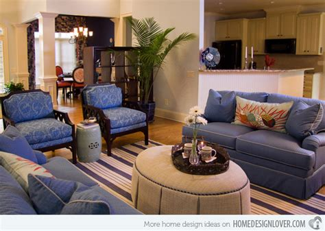 Livingroom Chairs 15 lovely living room designs with blue accents home