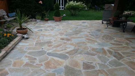 Polygonalplatten Terrasse Verlegen by Polygonalplatten Multicolor Sykis G 252 Nstig Kaufen