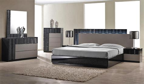 contemporary platform bedroom sets onda modern platform bed collection