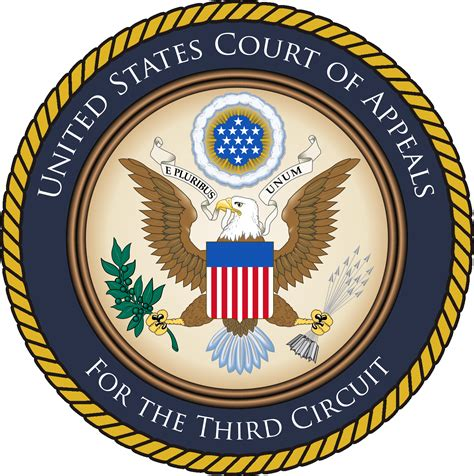 Third Circuit Court Search File Court Of Appeals 3rd Circuit Seal Jpg Wikimedia Commons