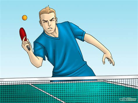 Table Tennis Serve by How To Serve In Table Tennis 9 Steps With Pictures