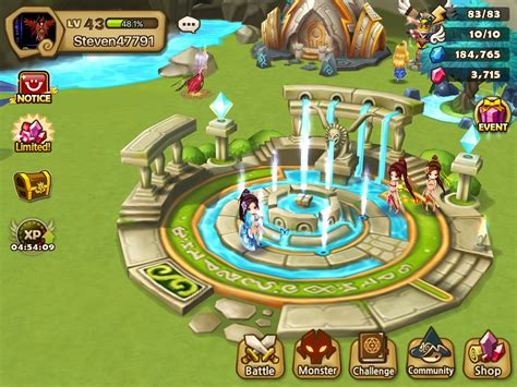 Garden Event Summoners War One Of The New Buildings Caligula S Garden
