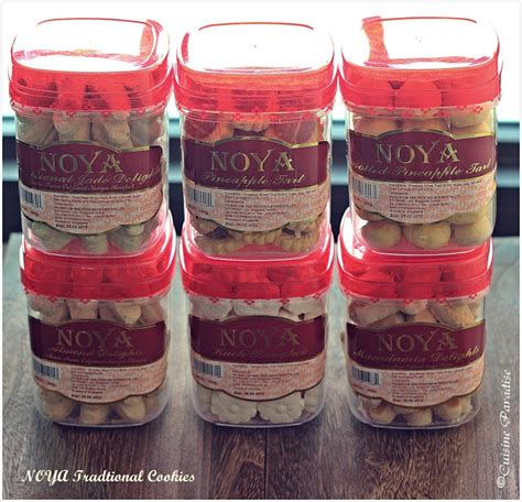new year cookies wholesale singapore cuisine paradise eat shop and travel noya traditional