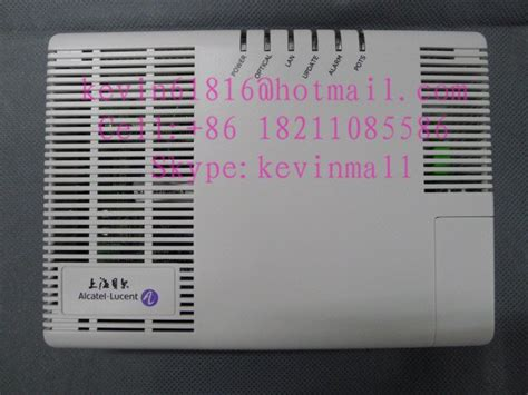 Modem Alcatel Lucent alcatel lucent ftto optical network terminal i 240e p i