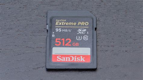 Sandisk 512gb sandisk pro 512gb sdxc card australian review