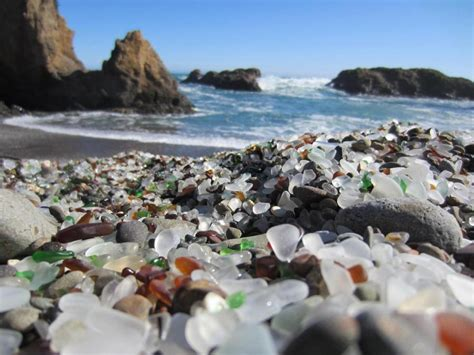 glass beach disappearing in ft bragg grindtv glass beach california photos