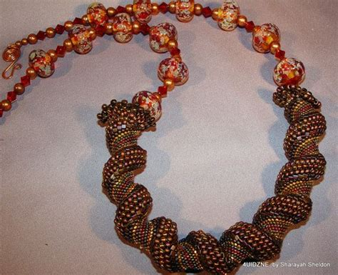 calgary bead stores shades of fall bead woven bead embroidery cellini by