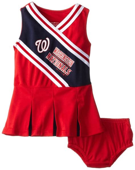 Dress Dress By Mlb 12 month baby toddler infant mlb washington nationals cheer dress ebay