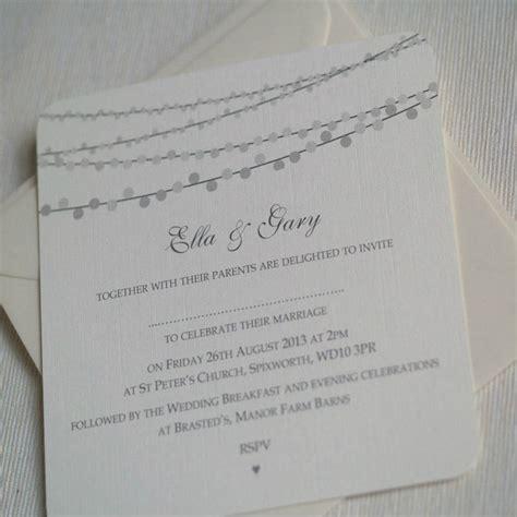 String Lights Wedding Invitation string lights design wedding invitations by beautiful day