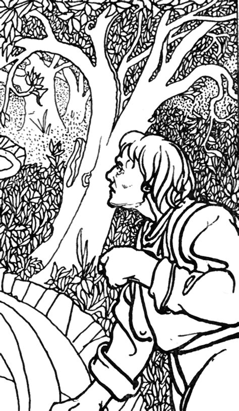 jungle tree coloring page free coloring pages of jungle leaf