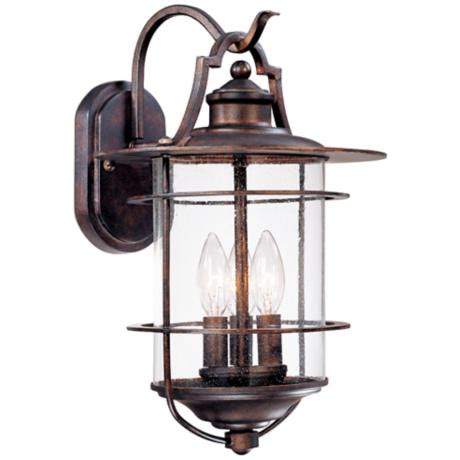 franklin iron works franklin iron works casa mirada 16 1 8 quot high outdoor light 51238 lsplus