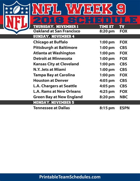 nfl printable schedule one page nfl 2016 2017 congrats to our suicide pool winner