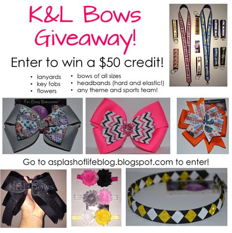 Bow Giveaway - k l bows giveaway teacher by the beach