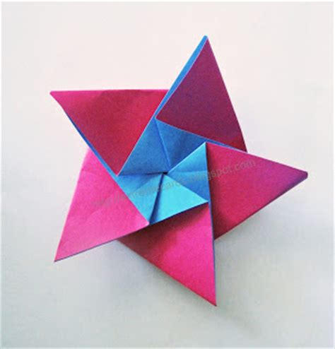 Five Pointed Origami - cards and papercrafting five pointed origami