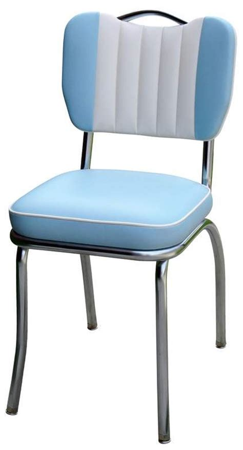 Blue Chair Diner diner chair 4260t handle back chair with contrasting