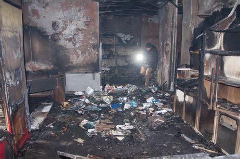 fosso ghiaia ravenna fosso ghiaia incendio distrugge il centro sportivo le