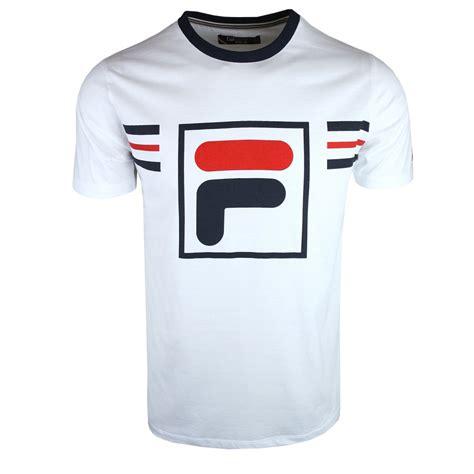 T Shirt Fila 2 buy mens fila t shirts from vault menswear uk