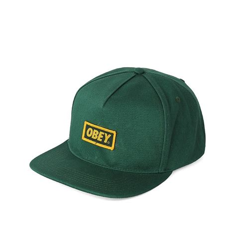 Snapback Austri obey standard issue new original snapback cap forest