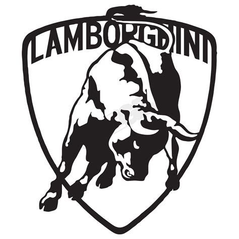 lamborghini logo vector lamborghini logo vis alle stickers foliegejl dk
