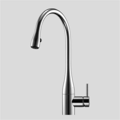 Kwc Plumbing by Kwc High Rise Single Lever Mixer W Covered Pull Aerator