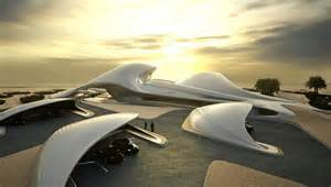 Famous New York Architects animation of zaha hadid s bee ah headquarters building in uae