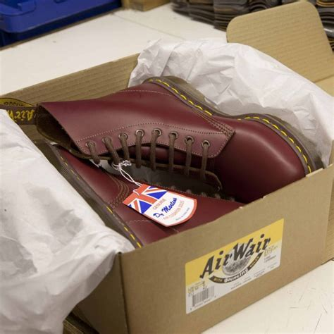 Dr Martens 156169 Made In Docmart Dr Martens dr martens 1460 vintage oxblood boots made in the shoes are made for walking