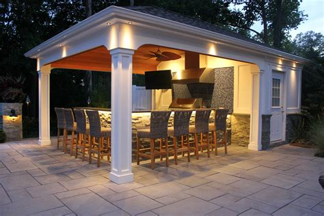 cabana house custom carpentry cabanas pool houses long island