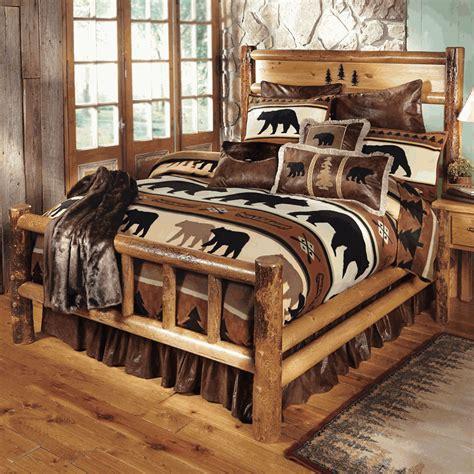 log bedroom furniture yosemite log bedroom furniture
