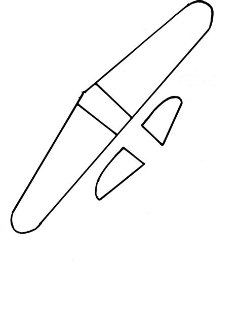 Airplane Template by Sculpey Iii Model Airplane For March Craft Month