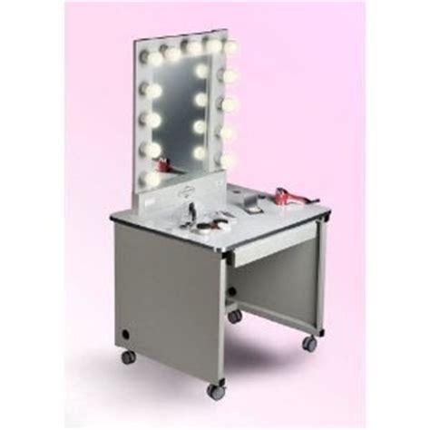 Lighted Makeup Vanity Table Lighted Make Up Table White Frame White Sur Lighted Make Up Table White Frame