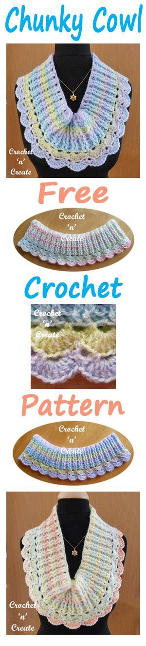collared cowl free crochet pattern crochet n create chunky cowl free crochet pattern crochet n create