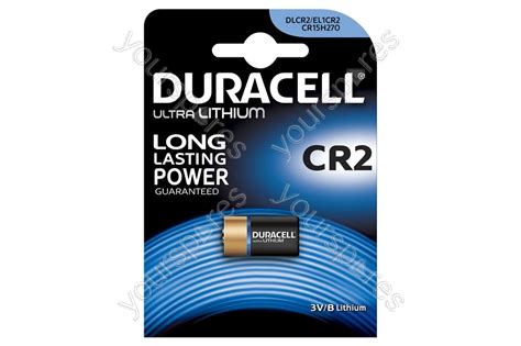 Duracell CR2 Lithium Battery 656.991UK by Duracell