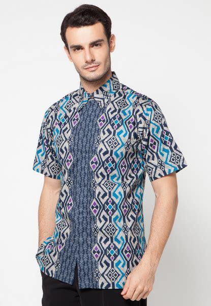 model design batik modern model baju batik pria modern sixteen fashion
