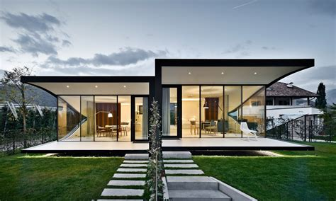 design of houses mirror houses minimalissimo