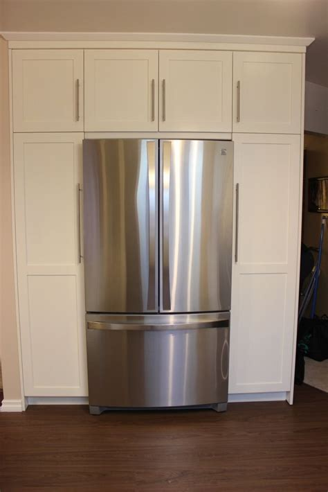 wrap around kitchen cabinets fridge wrap around pantry for the home pinterest