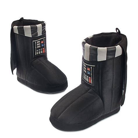 darth vader house shoes darth vader slippers for kids star wars the force awakens