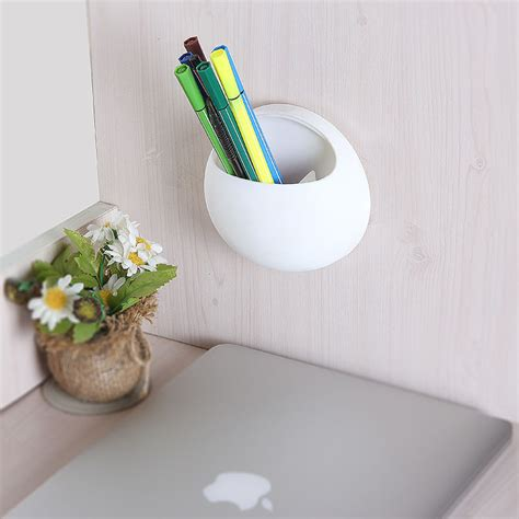 Wall Mounted Pan Holder Bathroom Toothbrush Wall Mount Holder Sucker Suction