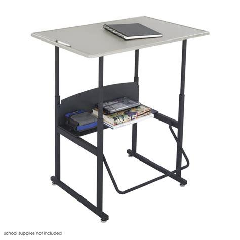 stand up student desk alphabetter 174 adjustable height stand up desk 36 x 24